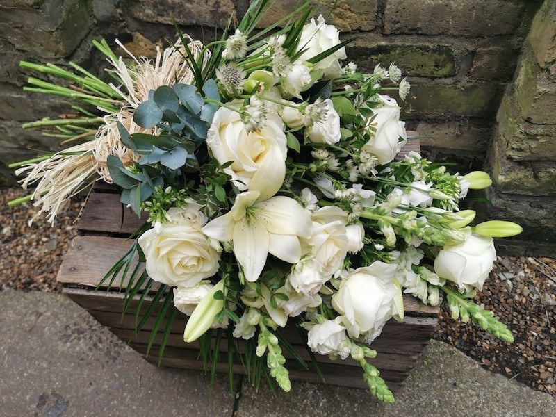 Traditional hand-tied sheaf