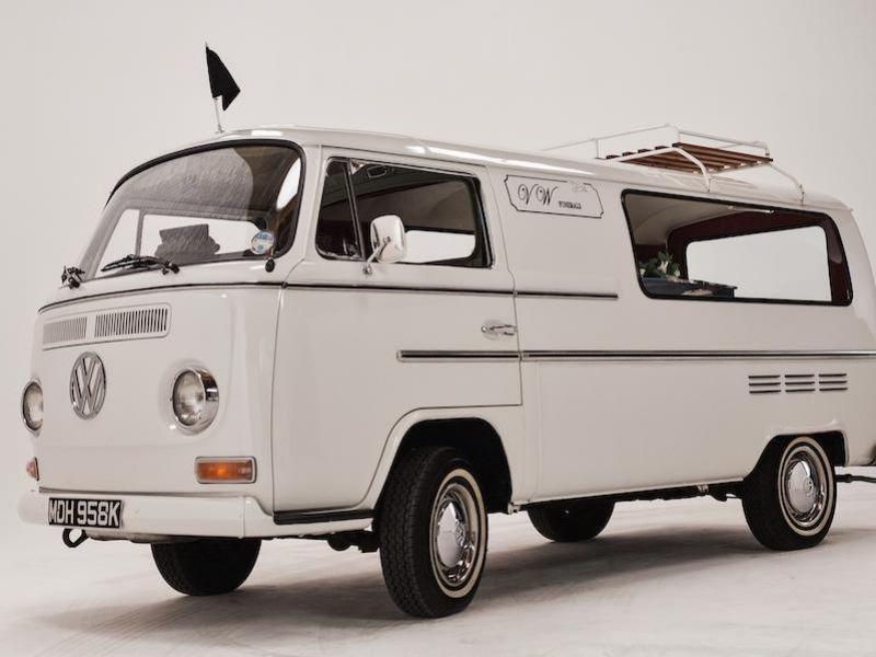 1972 VW Bay hearse