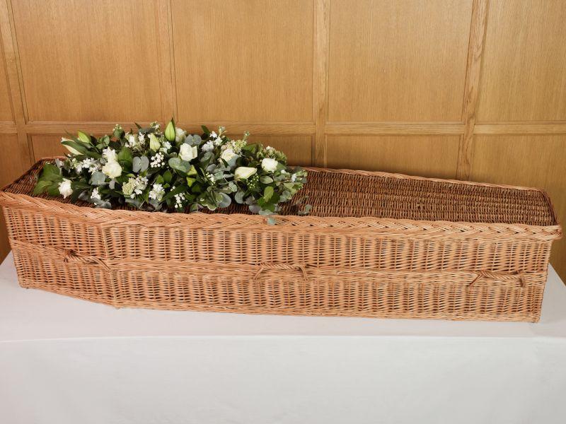 willow coffin | poppy's funerals