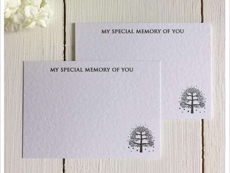 Remembrance Cards for funerals