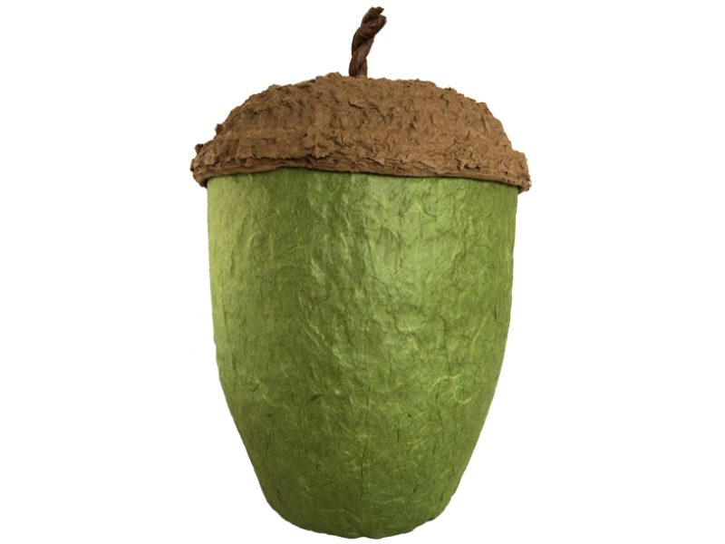 Acorn urn green