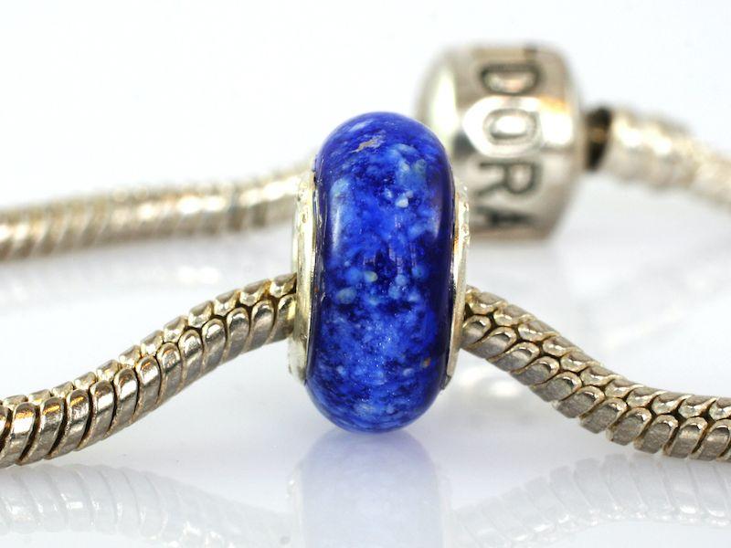 Pandora bead blue
