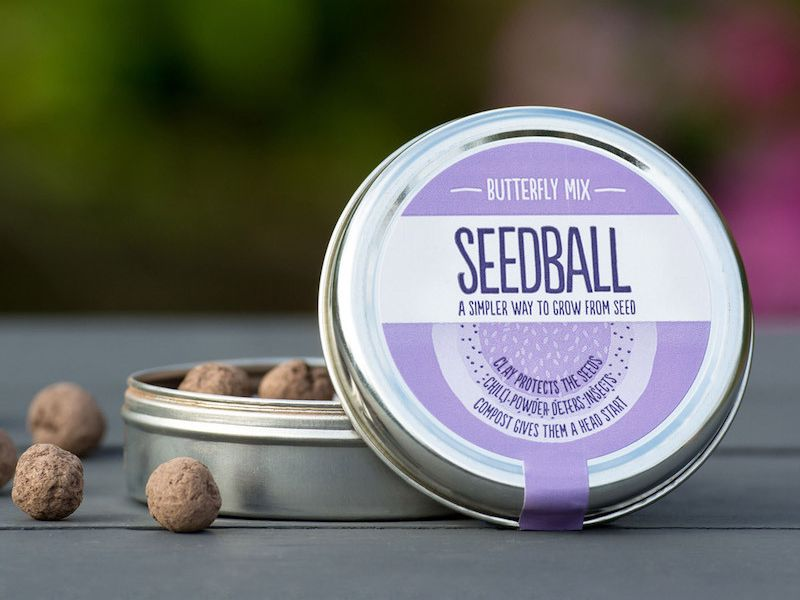 Seedball butterfly mix for funerals